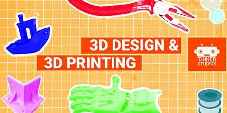 3D Design and 3D Printing Workshop tickets