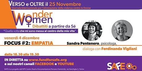 WonderWomen | Focus sull'EMPATIA tickets