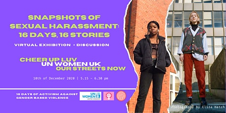 Snapshots of Sexual Harassment: 16 Days,16 Stories tickets