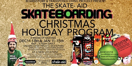 CHRISTMAS HOLIDAY SKATE PROGRAM 2020-21 Currimundi State School tickets