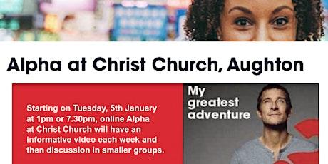 Christ Church Alpha Course tickets