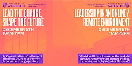 DECA Ontario x Waterloo (1): Lead the Change, Shape the Future tickets