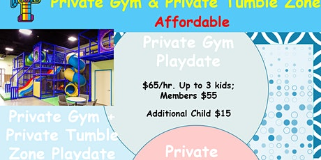 Private Gym and Private Playdate at Tumbles : 9 mos. to 13 yrs. old tickets
