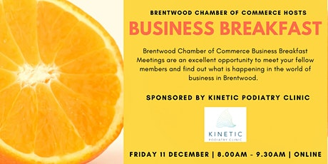 Virtual Business Breakfast tickets