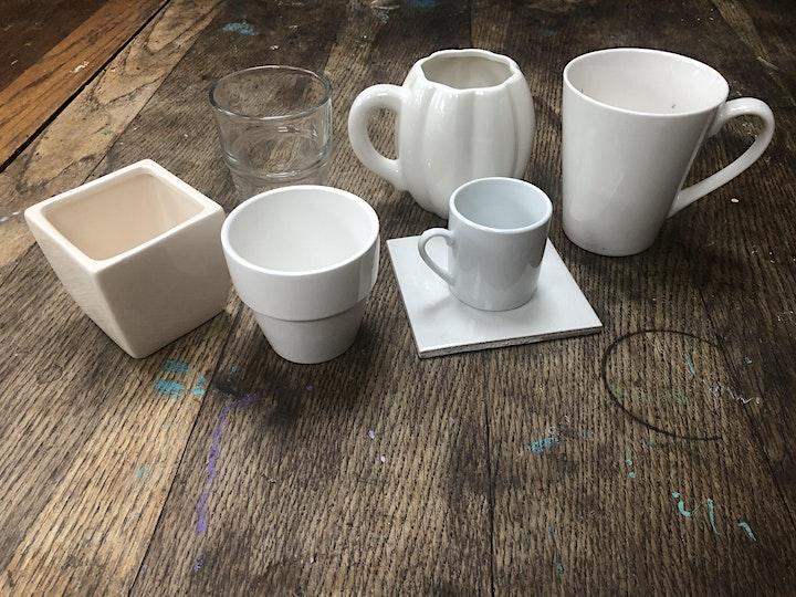 "Tonink Studios presents  ""The Colour-in Café"" image"