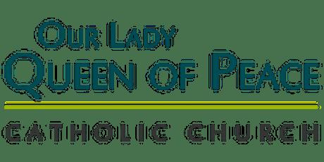 4:00pm Mass on Saturday December 26, 2020 tickets