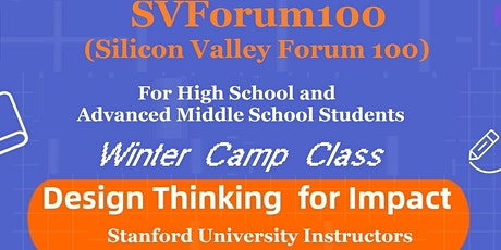 Winter Camp -- Design Thinking for Impact tickets