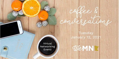 January 2021 Virtual Coffee and Conversations tickets
