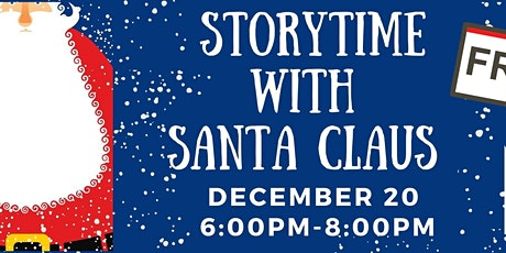 Story time with Santa tickets