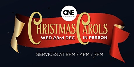 ONE CHURCH SCOTLAND CHRISTMAS CAROL SERVICE tickets