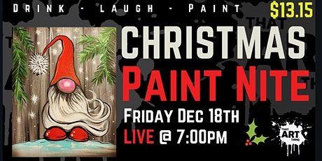 Christmas Paint Night - The one with Normie the Gnome! tickets