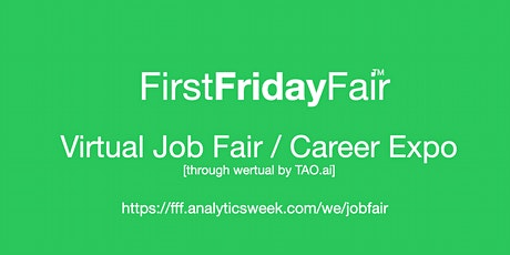 #Data #FirstFridayFair Virtual Job Fair / Career Expo Event # Austin tickets
