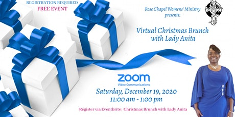 Virtual Christmas Brunch with Lady Anita tickets
