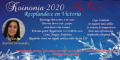 Koinonia 2020 - Algo Nuevo tickets