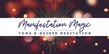 Manifestation Magic Yoga & Guided Meditation tickets