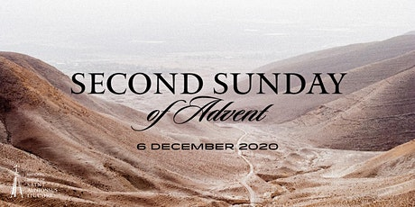Second Sunday of Advent, 6 December  2020 tickets