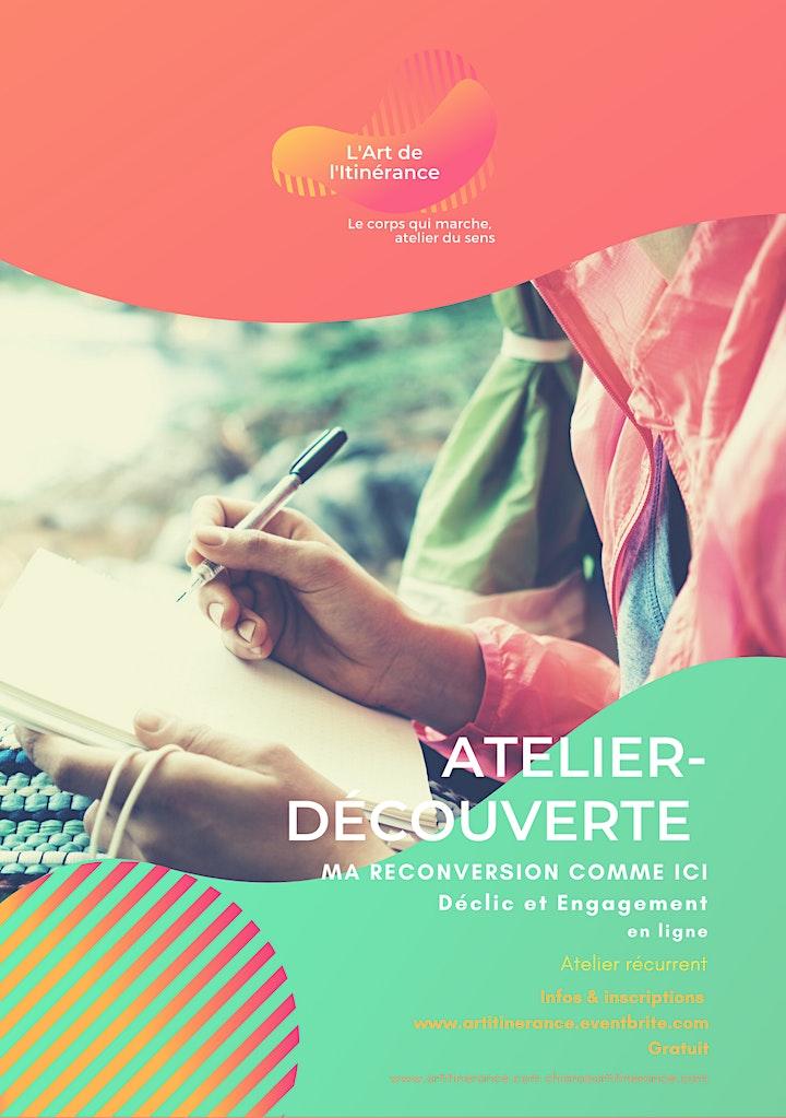 Image pour Atelier MA RECONVERSION COMMENCE ICI déclic et engagement 2H en ligne