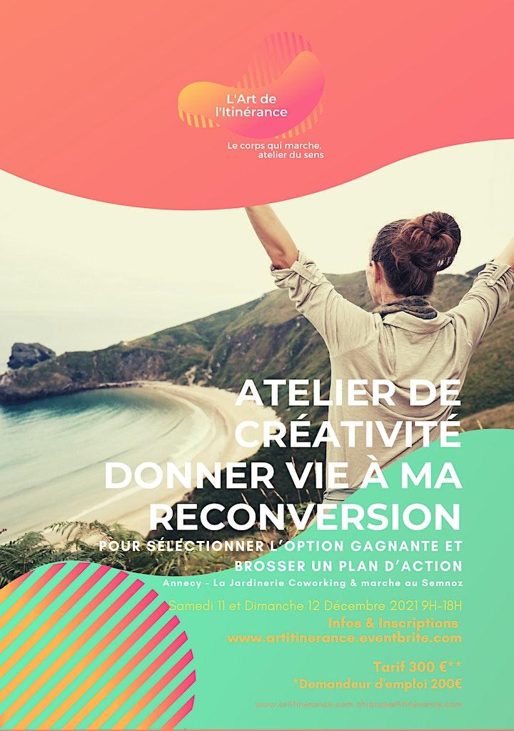 Image pour Atelier DONNER VIE A MA RECONVERSION trouver l'option gagnante à Annecy 2J