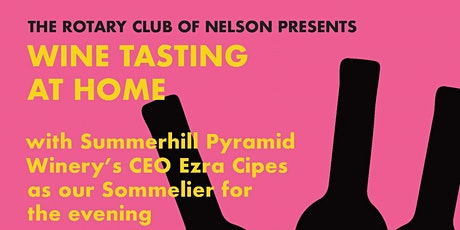 Rotary Club of Nelson presents Wine Tasting at Home tickets