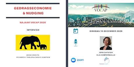 VOCAP Reeks Gedragseconomie & Nudging   Deel 4: Intervisie tickets