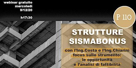 Strutture Sismabonus biglietti