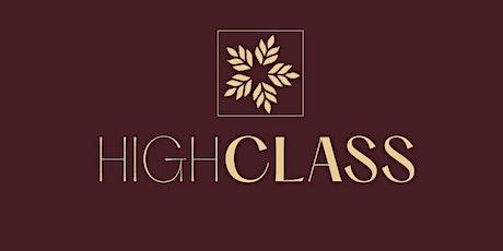 MÉTODO  HIGH CLASS ( Arte de receber com excelência, estilo e etiqueta.) ingressos