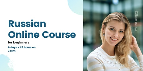 Russian online course for beginners tickets