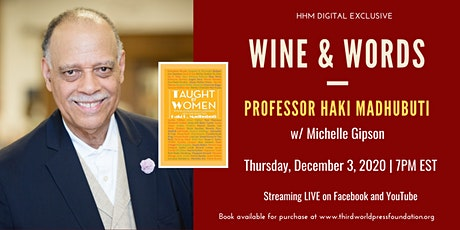 WINE AND WORDS: Professor Haki Madhubuti with Michelle Gipson tickets