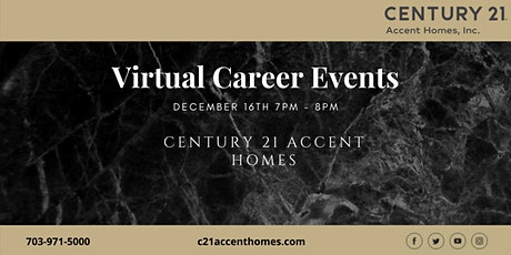 Northern Virginia Real Estate Career Seminar December 16th tickets