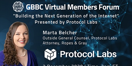 GBBC Virtual Members Forum with Protocol Labs tickets