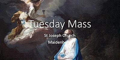 Book Online: Tuesday Mass (St Joseph)