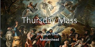 Book Online: Thursday Mass (St Joseph)