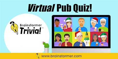 VIRTUAL Pub Quiz, DECEMBER 26, 2020 tickets