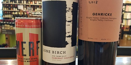 Thief Wine's Virtual Tasting: Cabernet Sauvignon  Bottled Three Ways tickets