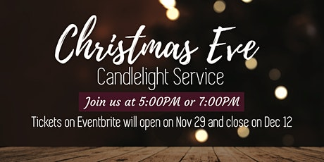 Parkdale Christmas Eve Candlelight Services tickets