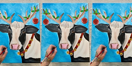 Cow: Virtual Painting Experience with Artist Katie Detrich! tickets