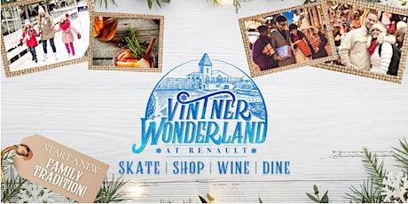 Ice Skating Sessions at Renault's Vintner Wonderland tickets
