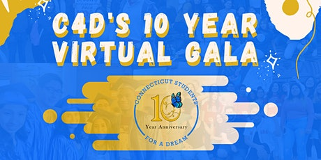 Virtual Gala: C4D 10 Year Anniversary tickets