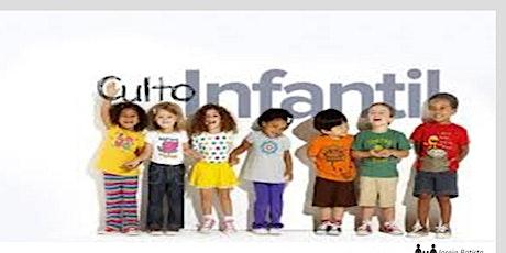 Culto Infantil - Rede Kids - Culto Noite - 29/11/2020 tickets