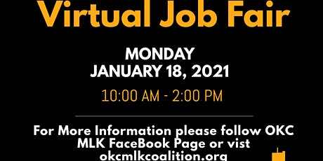 Oklahoma City MLK Coalition Virtual Job Fair tickets