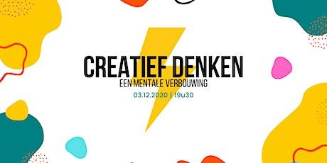 Webinar Creatief denken: mentale verbouwing 2 tickets