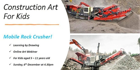 Learning by Drawing a Mobile Rock Crusher! tickets