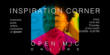 Inspiration Corner Open Mic tickets