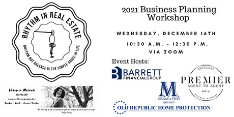 Business Planning Workshop by Rhythm In Real Estate  tickets