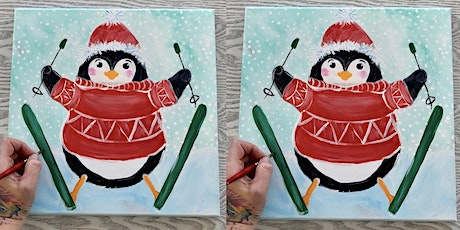 Penguin: Virtual Painting Experience with Artist Katie Detrich! tickets