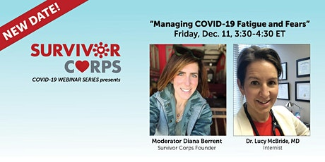 COVID Live Webinar: COVID-19 Fatigue & Fears with Dr. Lucy McBride MD tickets