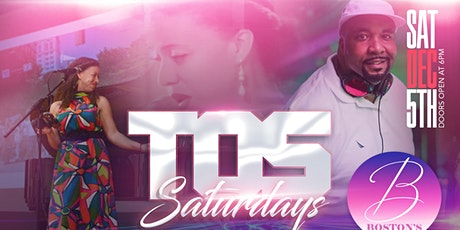 TOS Saturdays w/Nishah & Company and  DJ C-Rob tickets