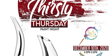 Thirsty Thursday Glass Paint Night tickets