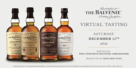 Virtual Tasting with The Balvenie tickets