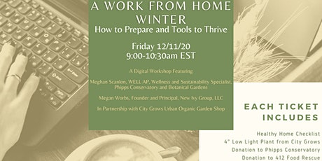 A Work from Home Winter: How to Prepare and Tools to Thrive tickets